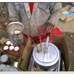 Desi Jugaad for making Coffee Froth