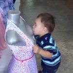 Naughty Kid Sucking Mannequin