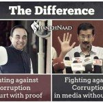 Difference between Arvind Kejriwal and Subramanian Swamy