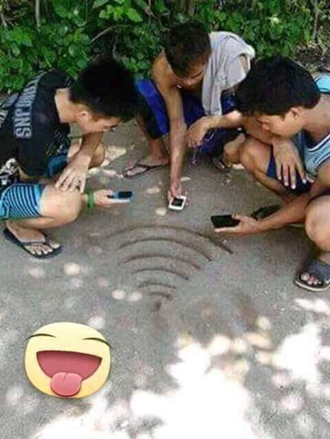 AAPians Searching for Wi-Fi Signal