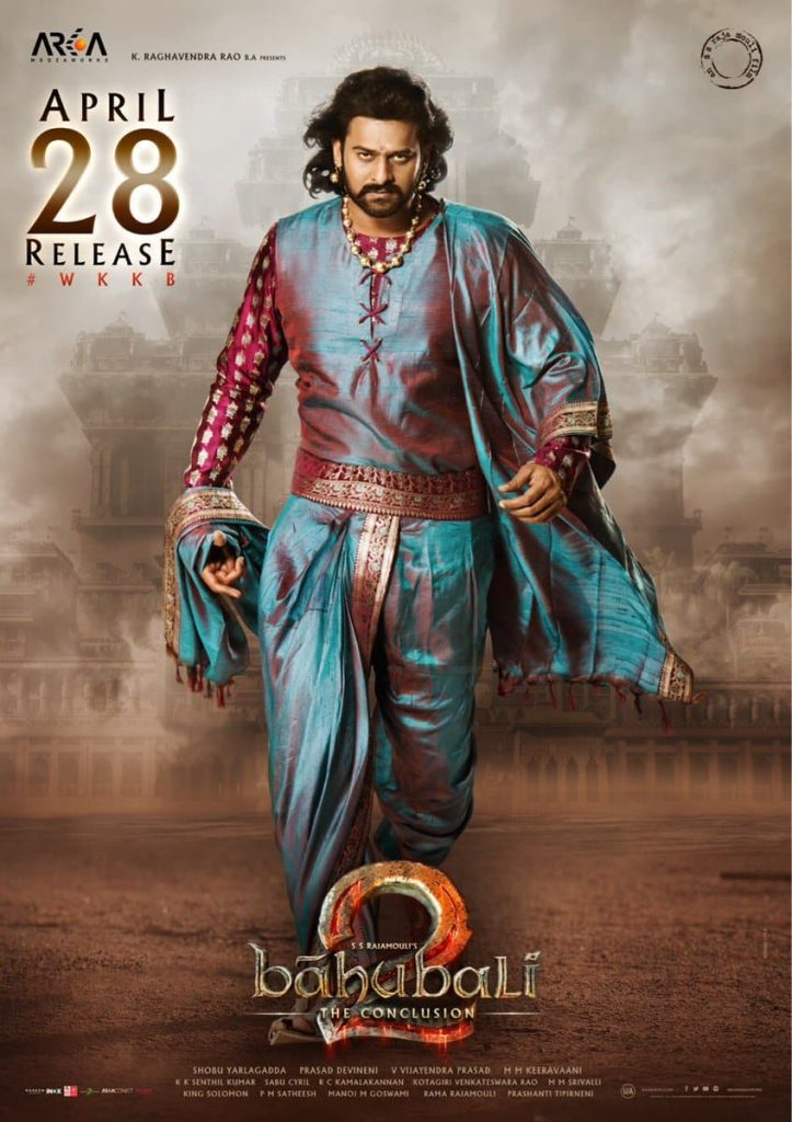 Bahubali 2 – The Conclusion First Saturday (Second Day) Collection