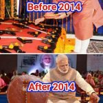 Narendra Modi : Before and After 2014