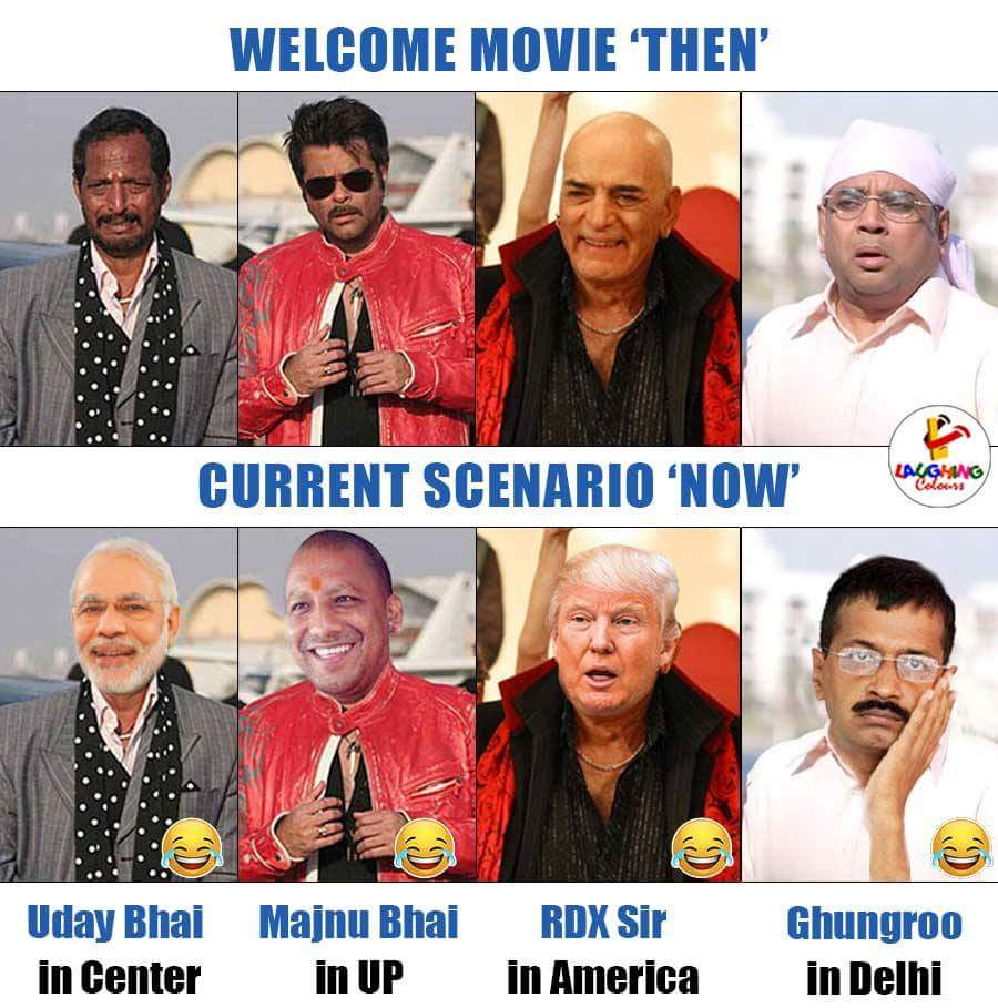 Welcome Movie Vs Current Scenario