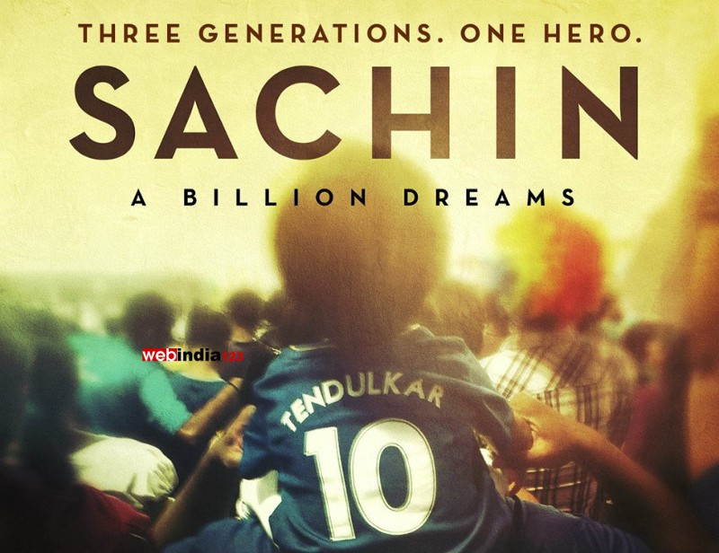Sachin: A Billion Dreams First Week Box Office Collection